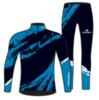 Nordski Premium лыжный гоночный комбинезон deep blue - 4