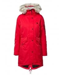 8848 Altitude Amiata женская парка мембранная red
