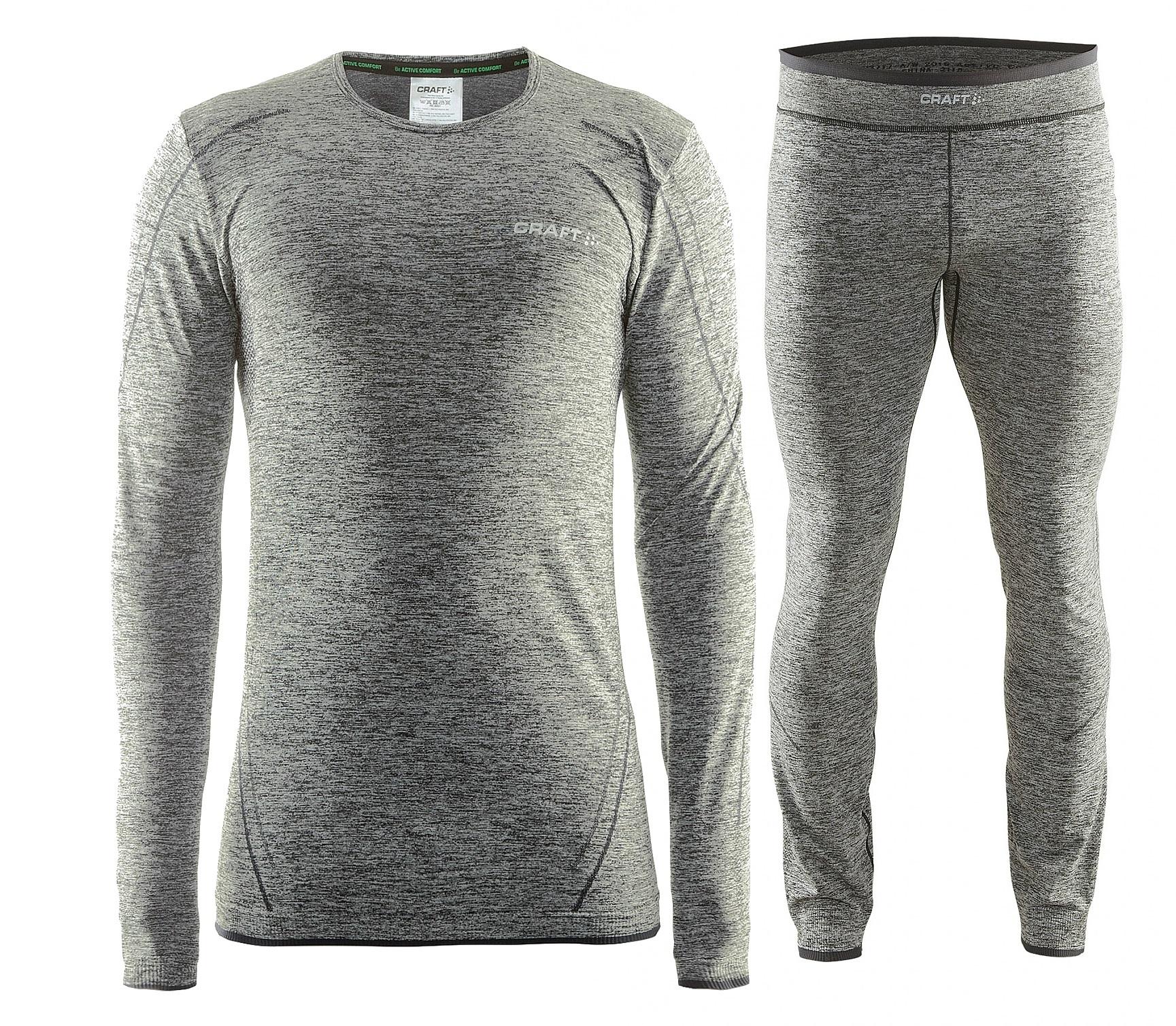 Craft Active Comfort комплект термобелья мужской black