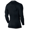 Футболка компрессионная Nike Hypercool Comp LS Top /Рубашка компрессионная беговая чёрная - 2