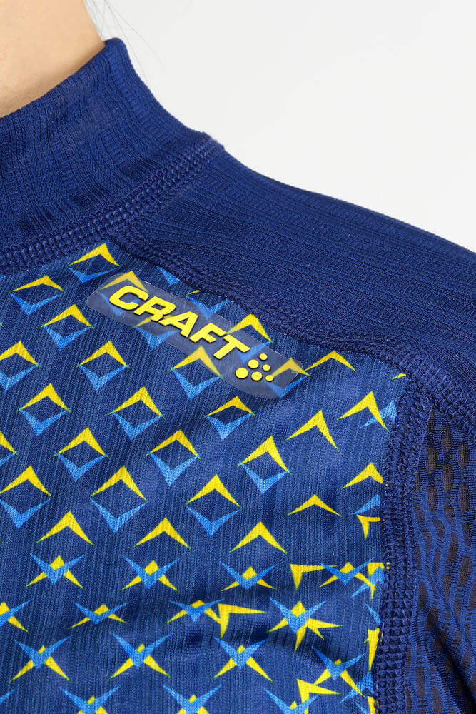 Термобелье рубашка женская Craft Active Extreme 2.0 Ski Team SWE - 4