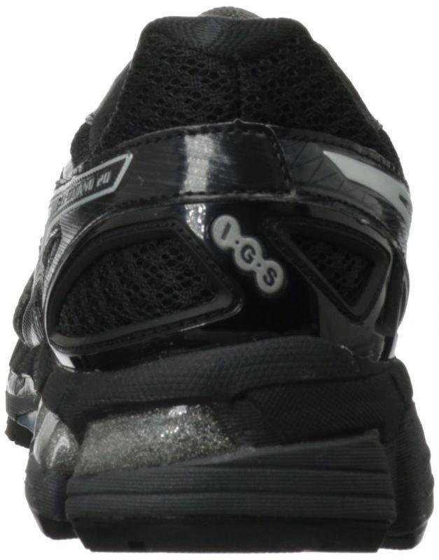 Asics Gel-Kayano 20 кроссовки для бега черные - 4