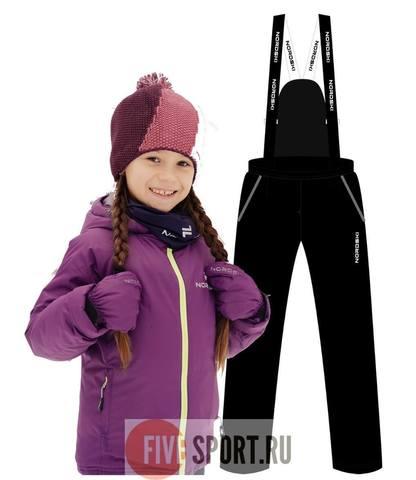 Nordski Jr Motion зимний лыжный костюм детский purple