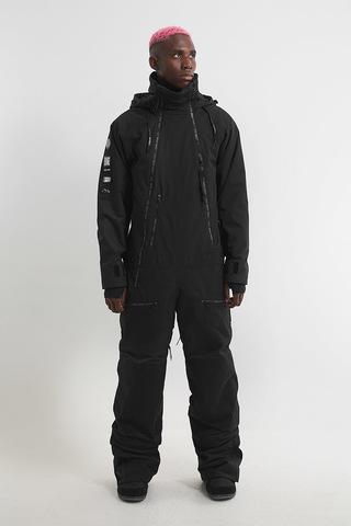 Cool Zone CODE сноубордический комбинезон мужской черный