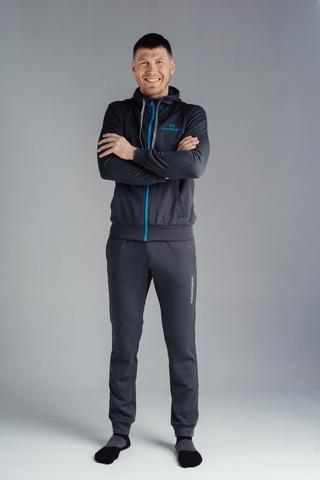 Nordski Hood толстовка мужская grey-blue