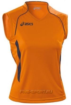 Asics Singlet Aruba Майка волейбольная женская orange