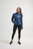 Craft Eaze куртка ветровка для бега женская синяя - 4