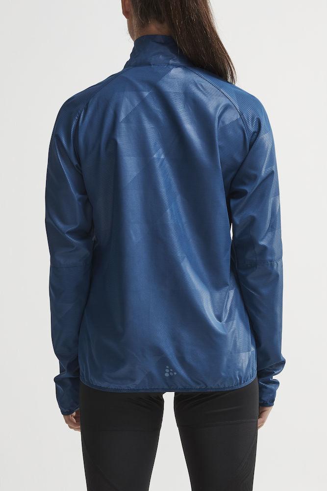Craft Eaze куртка ветровка для бега женская синяя - 3