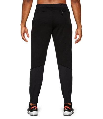 Asics Hybrid Fleece Pant утепленные брюки мужские черные