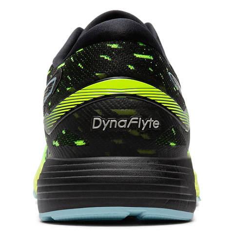 Asics Dynaflyte 4 кроссовки для бега мужские черные-зеленые