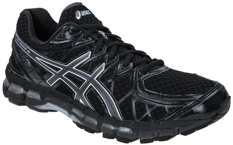 Asics Gel-Kayano 20 кроссовки для бега черные - 7