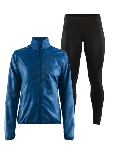 Craft Eaze женский костюм для бега черный-синий