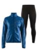 Craft Eaze женский костюм для бега черный-синий - 1