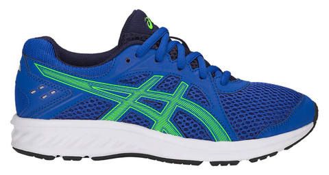 Asics Jolt 2 Gs кроссовки для бега подростковые синие-зеленые