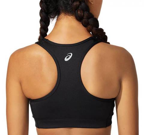 Asics Logo Bra топ для бега женский черный