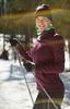 Nordski Motion Premium разминочный лыжный костюм женский Purple - 4
