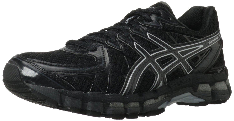 Asics Gel-Kayano 20 кроссовки для бега черные - 9