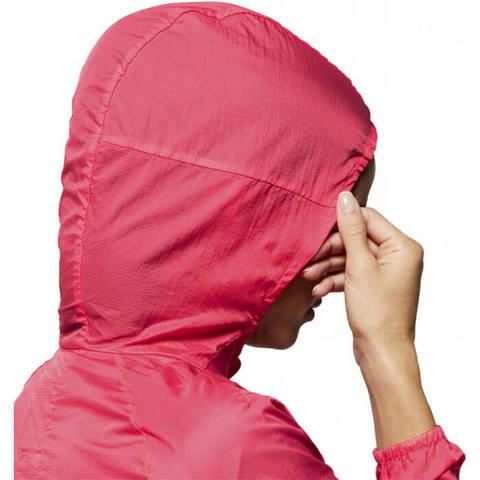 Asics Packable Jacket куртка для бега женская розовая