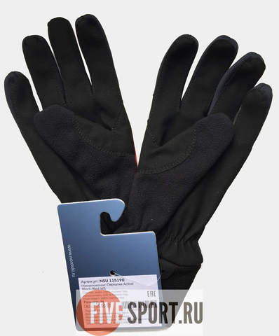 Nordski Jr Active WS перчатки детские black-red
