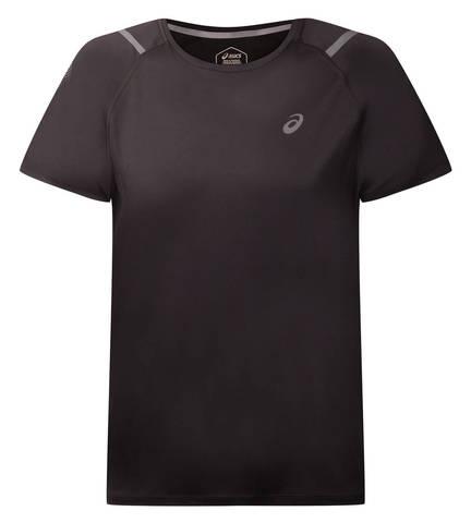 Asics Icon Ss Top футболка для бега мужская черная