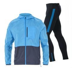 Asics Packable мужской костюм для бега синий