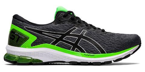 Asics Gt 1000 9 кроссовки для бега мужские черные-зеленые
