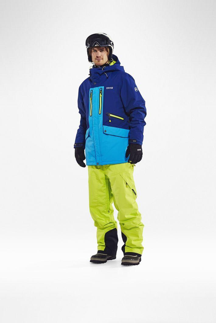 Горнолыжная Куртка 8848 Altitude LEDGE  мужская BERLINER  BLUE - 2