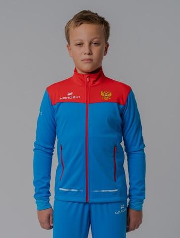 Nordski Jr Pro RUS разминочная куртка детская