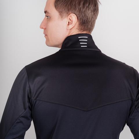 Лыжный утепленный костюм мужской Nordski Base Active black-blue
