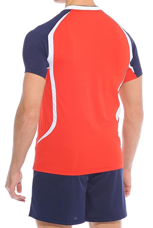 Волейбольная форма Asics Set Tiger Man красная