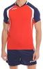 Волейбольная форма Asics Set Tiger Man красная - 2