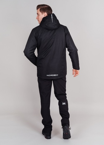 Nordski Urban утепленная куртка мужская черная