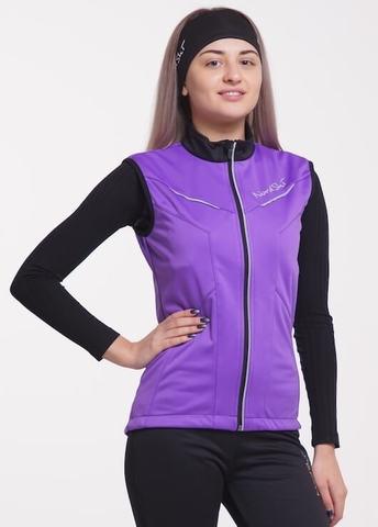Nordski Premium женский лыжный жилет фиолет