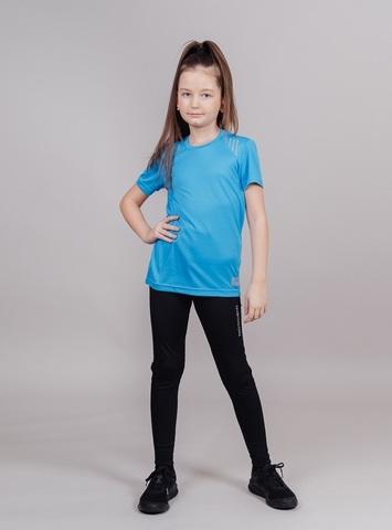 Nordski Jr Run футболка для бега детская blue