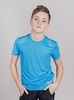 Nordski Jr Run футболка для бега детская blue - 4