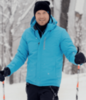 Nordski Mount лыжная утепленная куртка мужская синяя - 2