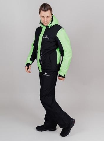 Nordski Extreme горнолыжный костюм мужской lime