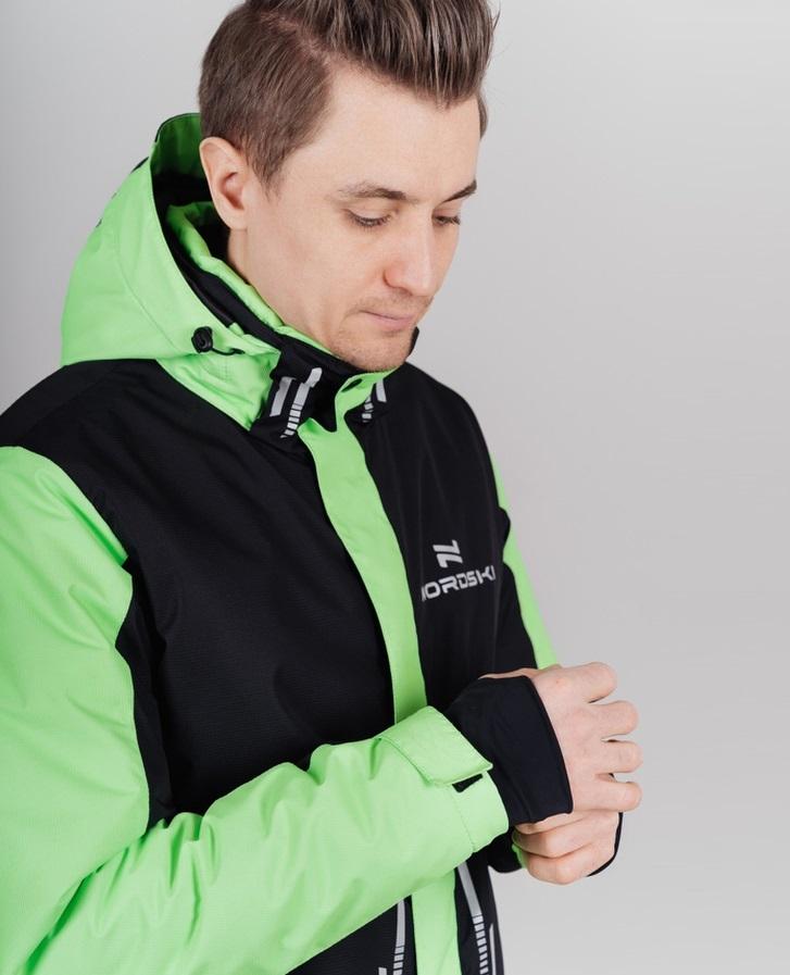 Nordski Extreme горнолыжный костюм мужской lime - 3
