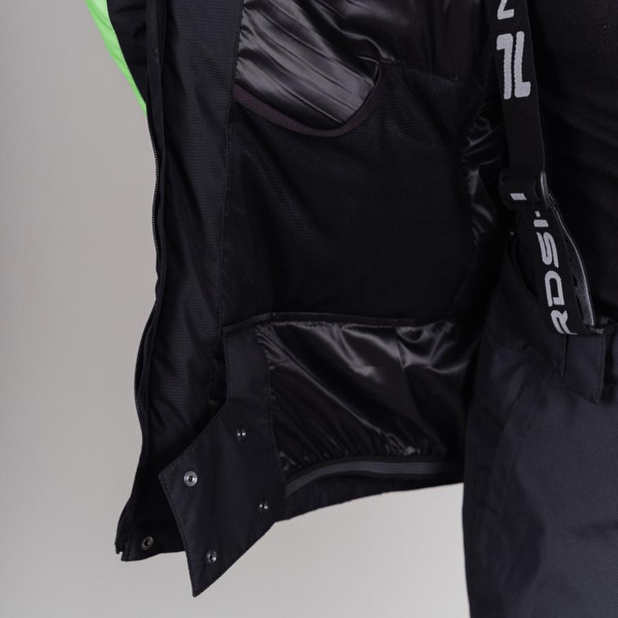 Nordski Extreme горнолыжный костюм мужской lime - 8