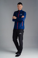 Nordski Motion костюм для бега мужской Navy/Red