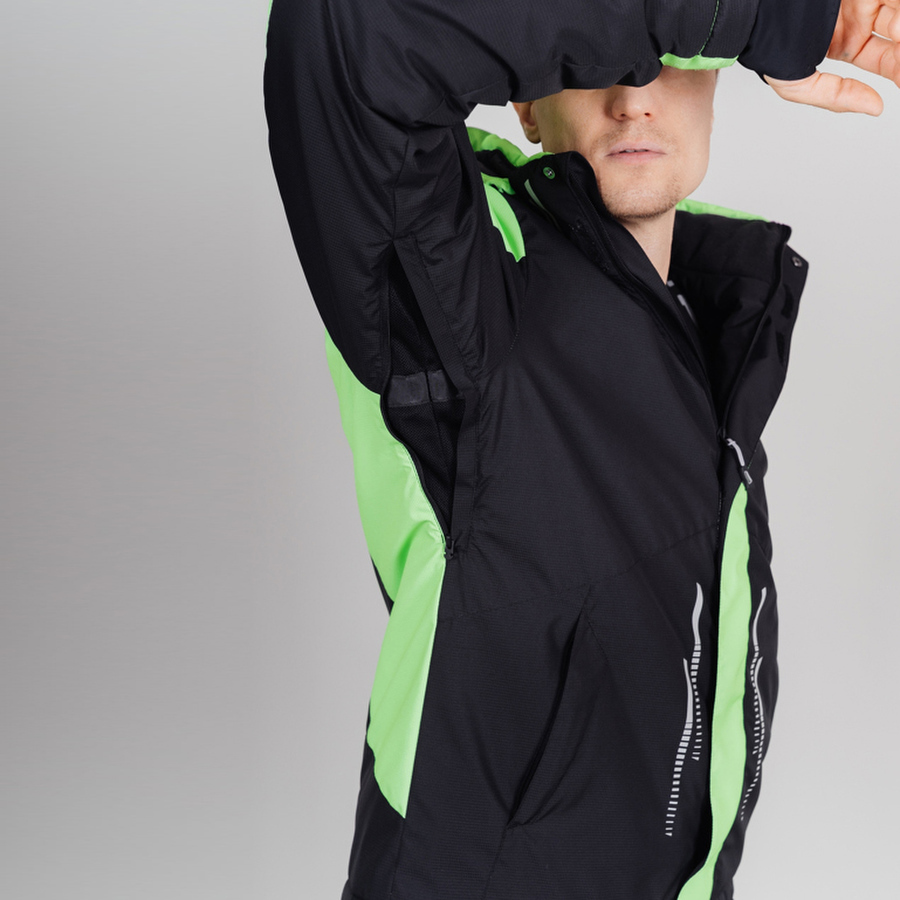 Nordski Extreme горнолыжный костюм мужской lime - 6