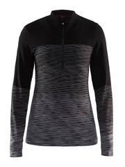 Craft Wool Comfort 2.0 терморубашка женская на молнии черная