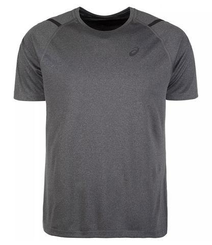 Asics Icon Ss Top футболка для бега мужская серая