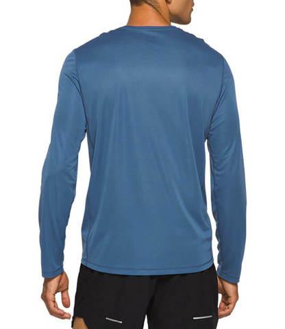Asics Katakana Ls футболка с длинным рукавом мужская синяя