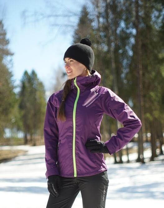 Nordski Motion женская ветрозащитная куртка purple
