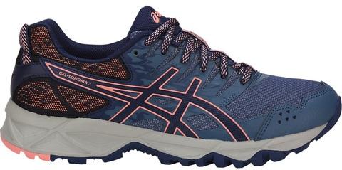 Asics Gel Sonoma 3 кроссовки внедорожники женские синие