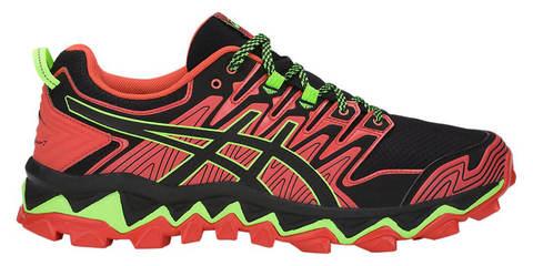 Asics Gel Fujitrabuco 7 кроссовки внедорожники мужские черные-красные