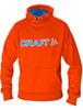 Толстовка Craft Flex Hood мужская orange - 1