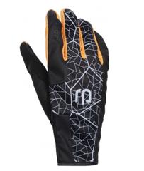 Bjorn Daehlie Speed Synthetic перчатки лыжные черные-оранжевые