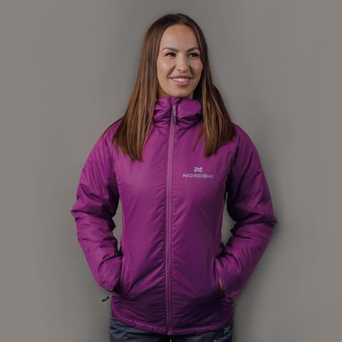 Nordski Motion Mount утепленный лыжный костюм женский iris